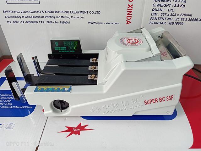MÁY ĐẾM TIỀN XINDA SUPER BC-35F